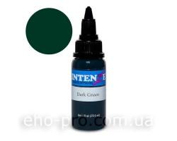 Фарба для тату Intenze Dark Green