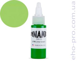 Фарба для тату Dynamic LYM Lime Green 1oz