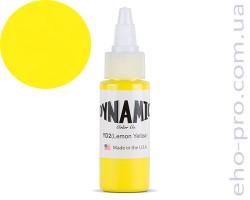 Фарба для тату Dynamic YD2 Lemon Yellow