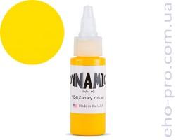 Фарба для тату Dynamic YD4 Canary Yellow