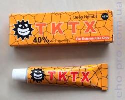Знеболюючий крем для тату TKTX 40%
