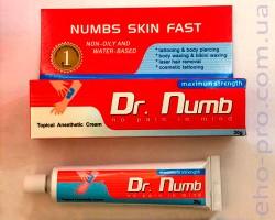 Знеболюючий крем для тату Dr.Numb